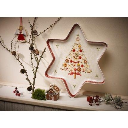 Bol Villeroy & Boch Winter Bakery Delight Star 37.5x33cm