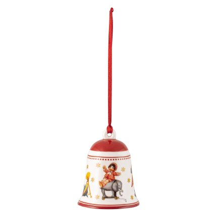 Decoratiune brad Villeroy & Boch My Christmas Tree Bell Toys Red 5,5x5,5x6,9cm