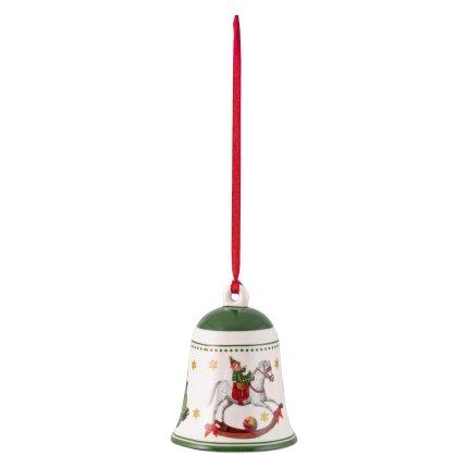 Decoratiune brad Villeroy & Boch My Christmas Tree Bell Toys Green 5,5x5,5x6,9cm