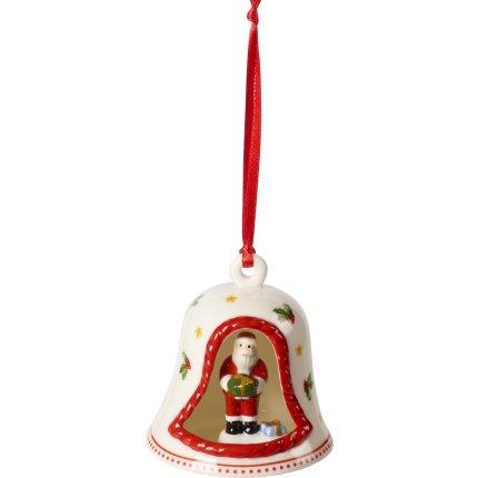 Decoratiune brad Villeroy & Boch My Christmas Tree Bell  Santa 8.5cm