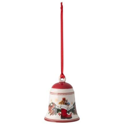 Decoratiune Villeroy & Boch My Christmas Tree Bell Forest Animals 5,5x5,5cm