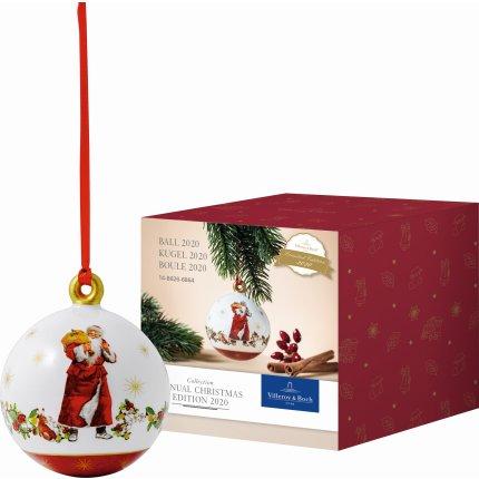 Decoratiune Villeroy & Boch Annual Christmas Edition Ball 2020 6.5x6.5cm