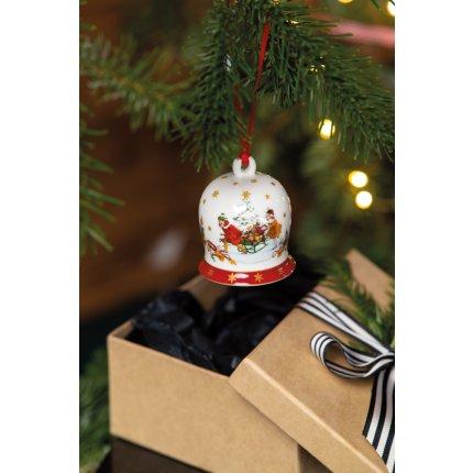 Decoratiune brad Villeroy & Boch Annual Christmas Edition Bell 2021 6cm