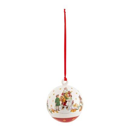 Decoratiune brad Villeroy & Boch Annual Christmas Edition Ball 2021 6,5cm