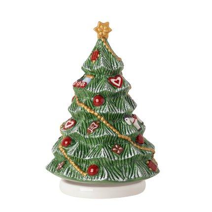 Decoratiune Villeroy & Boch Nostalgic Melody Christmas Tree Turning 11x16cm