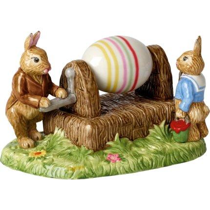 Decoratiune Villeroy & Boch Bunny Tales Painting Eggs 16,5x11x16,5cm