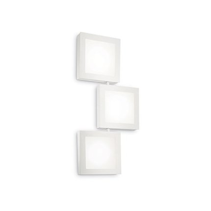 Aplica Ideal Lux Union AP3 Square, 3x15W GX53, 64x30x5cm