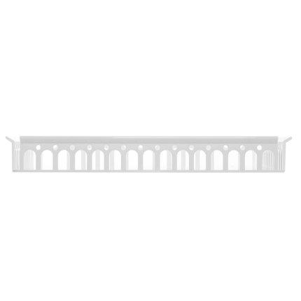 Tava Kartell Piazza design Fabio Novembre, 48x37cm, alb