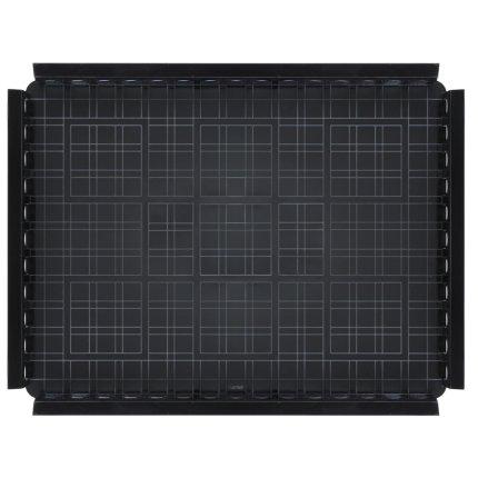 Tava Kartell Piazza design Fabio Novembre, 48x37cm, negru