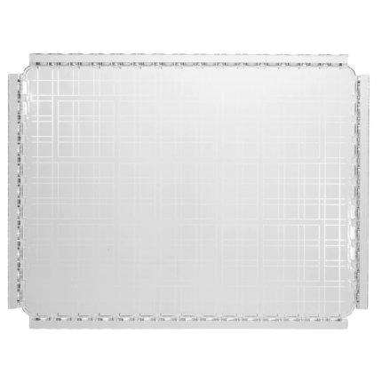Tava Kartell Piazza design Fabio Novembre, 48x37cm, transparent