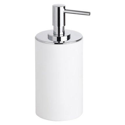 Dispenser sapun lichid Bemeta Gamma rotund, alb