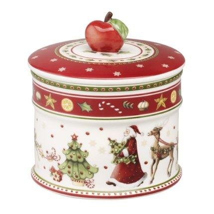 Recipient cu capac Villeroy & Boch Winter Bakery Delight Pastry 12x11cm