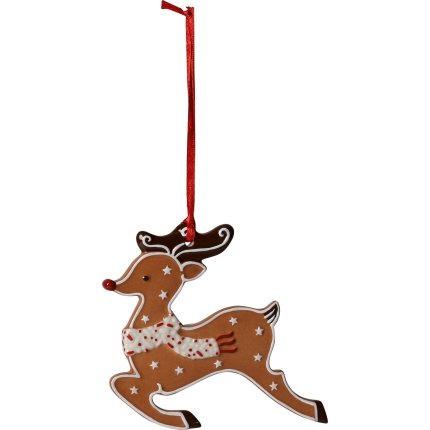 Decoratiune Villeroy & Boch Winter Bakery Decoration Gingerbread Reindeer 9x9.5cm