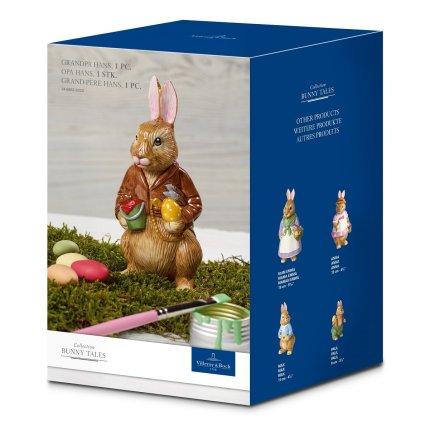 Decoratiune Villeroy & Boch Bunny Tales Grandpa Hans 14.7cm