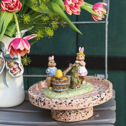 Decoratiune Villeroy & Boch Bunny Tales Egg dip-painting 13,5x9x10,5cm