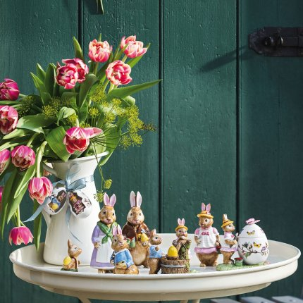 Decoratiune Villeroy & Boch Bunny Tales Anna in Egg 5cm