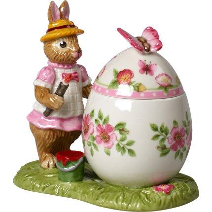 Cutiuta decorativa Villeroy & Boch Bunny Tales Easter Egg Anna 11x7x10,5cm gift box