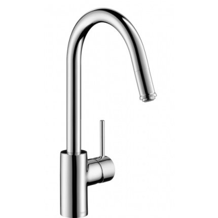 Baterie bucatarie Hansgrohe Variarc, dus extractibil, crom