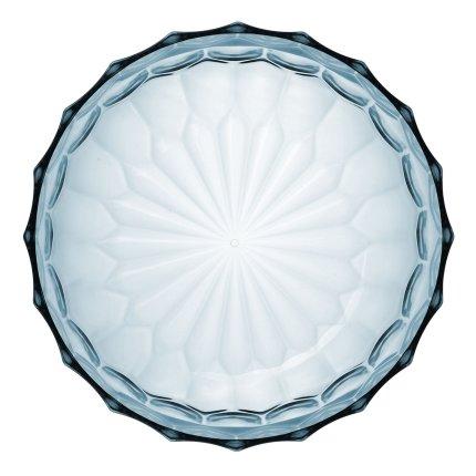 Bol Kartell Jellies Family design Patricia Urquiola, 32cm, albastru transparent