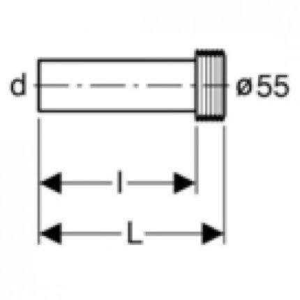Set conectare pentru rezervor ingropat Geberit