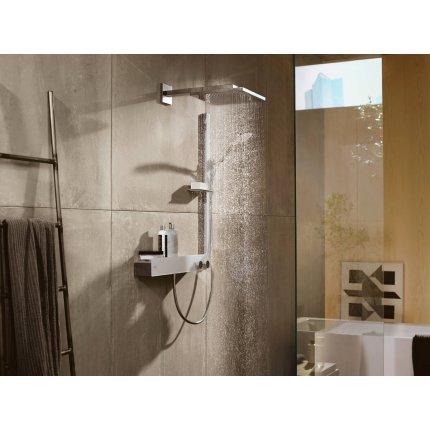 Palarie de dus Hansgrohe Raindance E 300 Air si brat de perete 390mm, alb mat