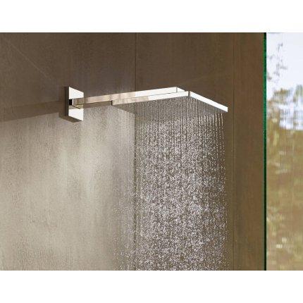 Palarie de dus Hansgrohe Raindance E 300 Air si brat de perete 390mm, gold optic lustruit