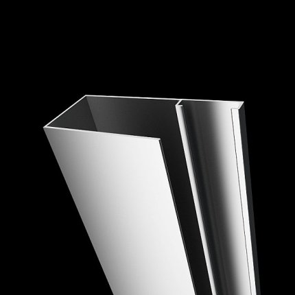 Profil de extensie tip U Radaway Torrenta 2cm