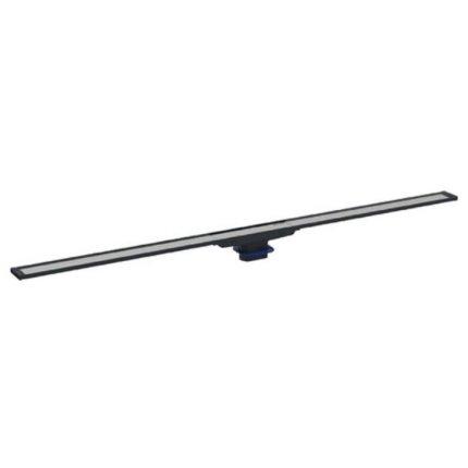 Capac rigola de pardoseala Geberit CleanLine20 lungime 30-90 cm, finisaj metal negru-metal periat