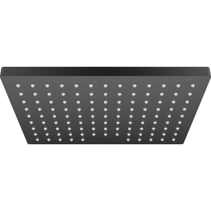 Sistem de dus incastrat Hansgrohe Vernis Shape Pulsify negru mat cu 2 consumatori