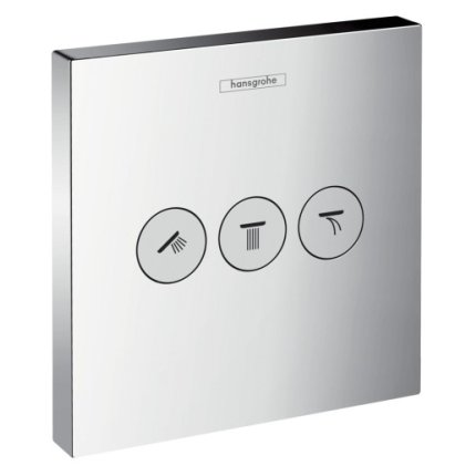 Divertor Hansgrohe Shower Select penru 3 consumatori, necesita corp ingropat