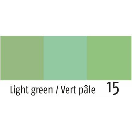 Husa perna Sander Jacquards Figo 50x50cm, 15 verde deschis