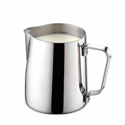 Vas servire lapte inox Karl Weis Premium 16001, gradatie interioara, 300ml
