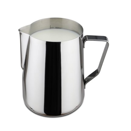 Vas servire lapte inox Karl Weis Premium 16003, gradatie interioara, 800ml