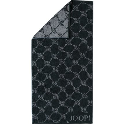 Prosop baie Joop! Classic Cornflower 50x100 cm negru