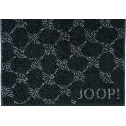 Prosop baie Joop! Classic Cornflower 80x150 cm negru