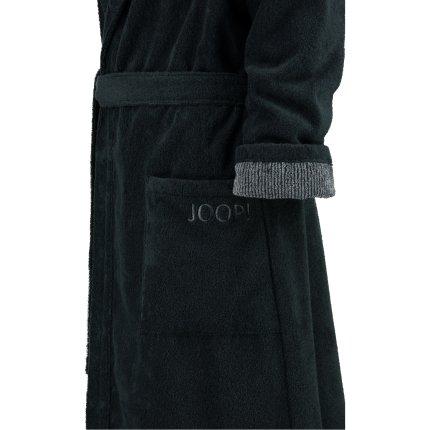 Halat de baie femei Joop! Classic cu gluga, XL, negru