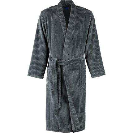 Halat de baie barbati Joop! Velour 1630 tip kimono, L, grafit