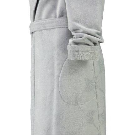 Halat de baie femei Joop! Uni Velour cu gluga, XL, platinum
