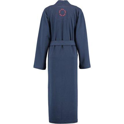 Halat de baie femei Joop! Beach Capsule tip kimono, M, albastru marin