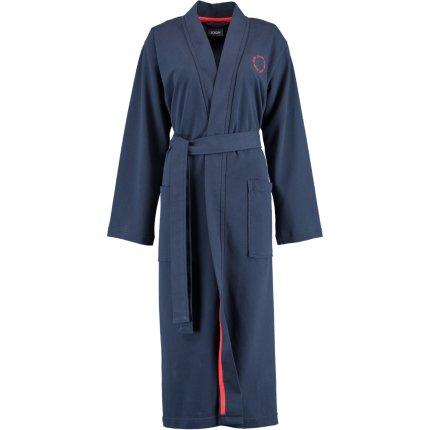 Halat de baie femei Joop! Beach Capsule tip kimono, S, albastru marin