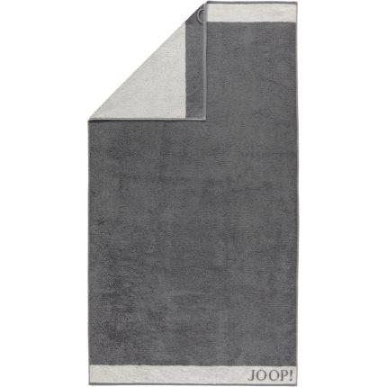 Prosop baie Joop! Diamond Doubleface 80x150 cm gri stone