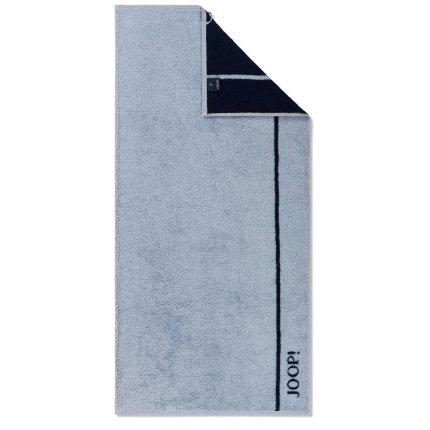 Prosop baie Joop! Lines Doubleface 50x100cm, 11 bleu
