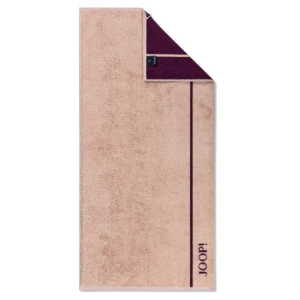 Prosop baie Joop! Lines Doubleface 80x150cm, 38 roz