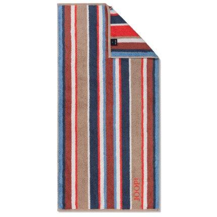 Prosop baie Joop! Lines Stripes 80x150cm, 32 sand