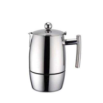 Cafetiera espressor Karl Weis Exclusive 3 cesti, inox