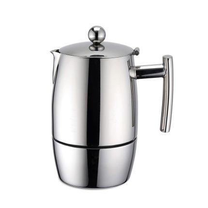 Cafetiera espressor Karl Weis 6 cesti, inox