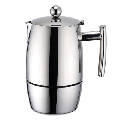 Cafetiera espressor Karl Weis Exclusive 10 cesti, inox