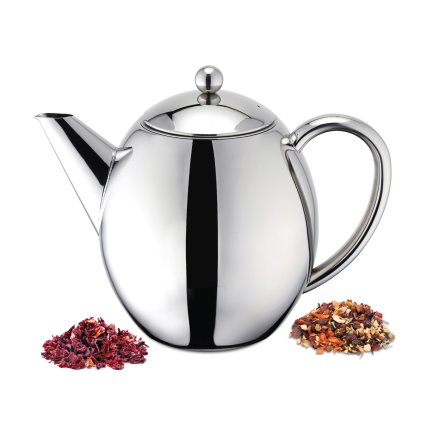 Ceainic inox Karl Weis cu pereti dubli 1 litru