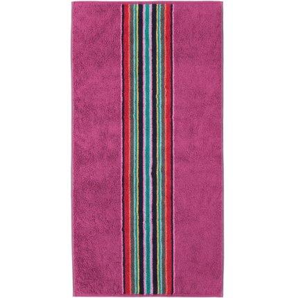 Prosop baie Cawo Opal Centre Stripes 50x100cm, 82 purple