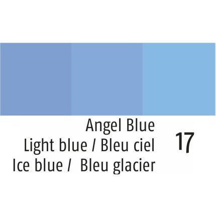 Husa perna Sander Jacquards Clarity 40x40 cm, 17 Light Blue